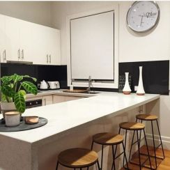 Beautiful hampton style kitchen designs ideas 18