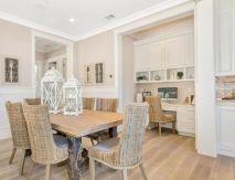 Beautiful hampton style kitchen designs ideas 19