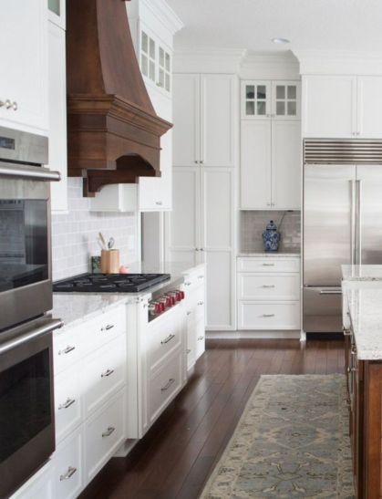 Beautiful hampton style kitchen designs ideas 21