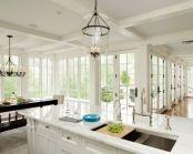 Beautiful hampton style kitchen designs ideas 24