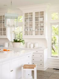 Beautiful hampton style kitchen designs ideas 31