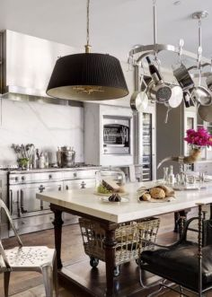 Beautiful hampton style kitchen designs ideas 35