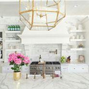 Beautiful hampton style kitchen designs ideas 37