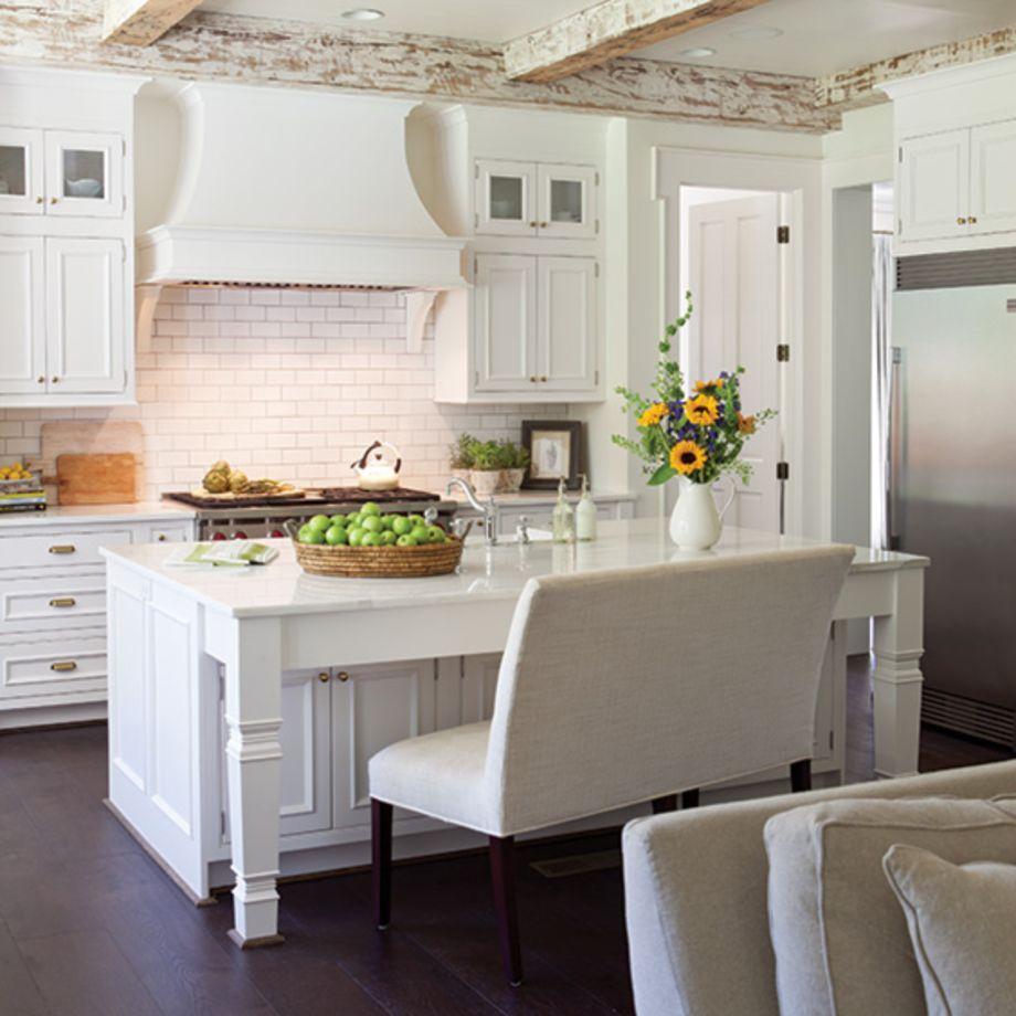 Beautiful hampton style kitchen designs ideas 47