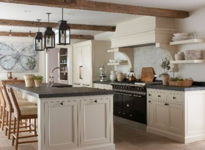 Beautiful kitchens ideas with black granite 01