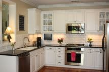Beautiful kitchens ideas with black granite 03