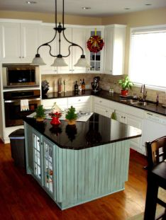 Beautiful kitchens ideas with black granite 11