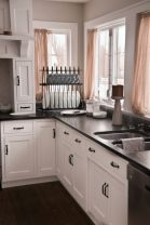 Beautiful kitchens ideas with black granite 17