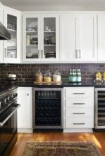 Beautiful kitchens ideas with black granite 20