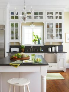 Beautiful kitchens ideas with black granite 24
