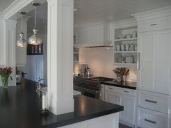Beautiful kitchens ideas with black granite 29