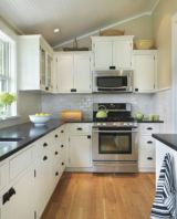 Beautiful kitchens ideas with black granite 44