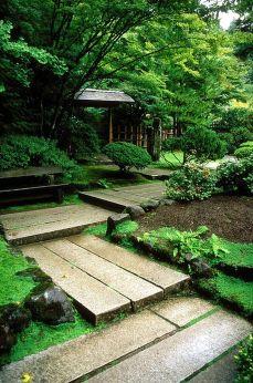 Beautiful modern japanese garden landscape ideas 44