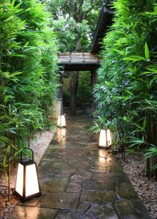 Beautiful modern japanese garden landscape ideas 60