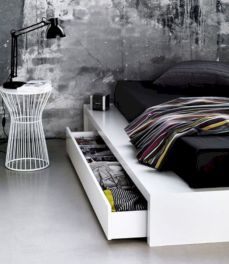 Black and white bedroom furniture 06