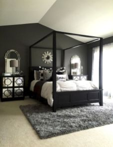 Black and white bedroom furniture 16