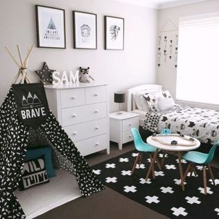 Black and white bedroom furniture 22