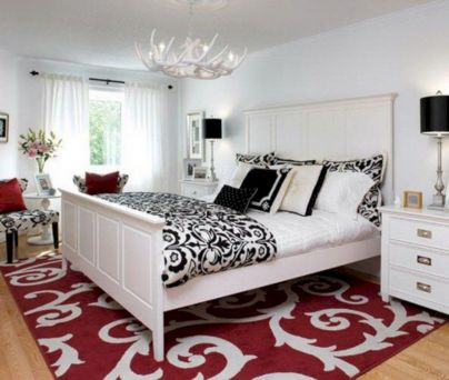 Black and white bedroom furniture 27