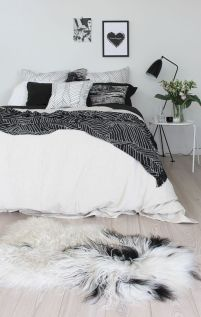Black and white bedroom furniture 30