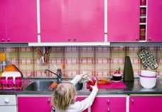 Cool contact paper kitchen cabinet doors ideas to makes look expensive 03