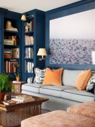 Cool decorating ideas for large living room wall 14