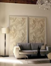 Cool decorating ideas for large living room wall 45