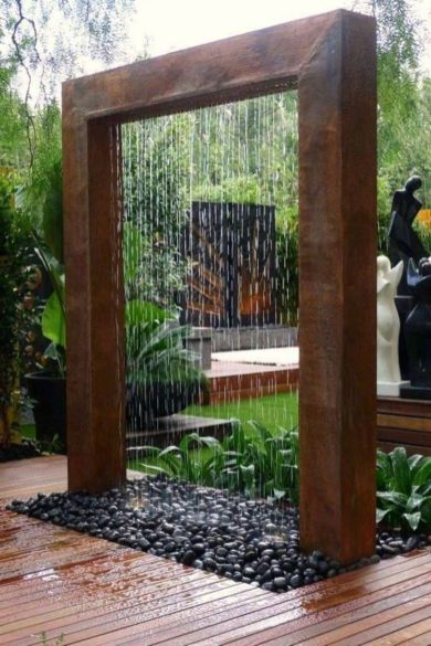 Cool ideas for garden fountains design you should try 32