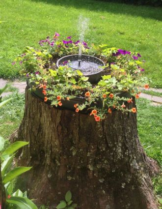 Cool ideas for garden fountains design you should try 50