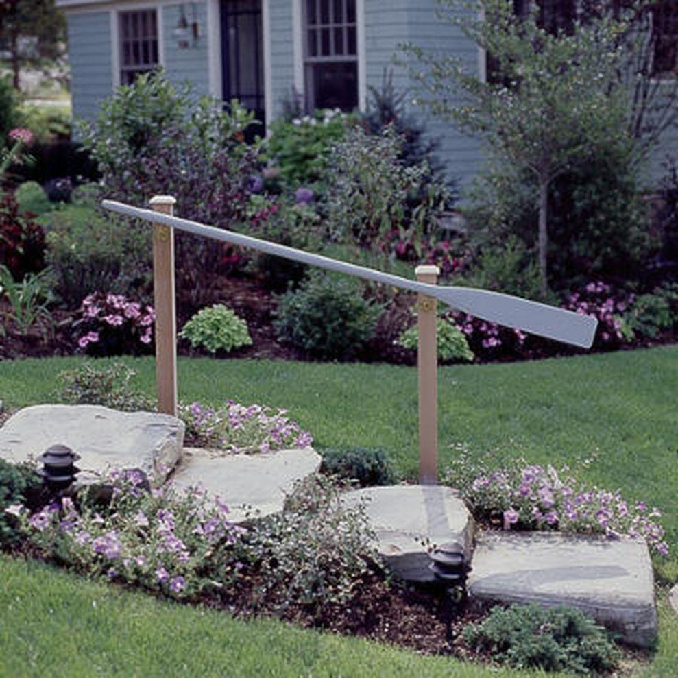 Creative front porch garden design ideas 24