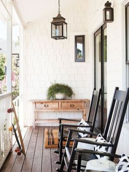 Creative front porch garden design ideas 26