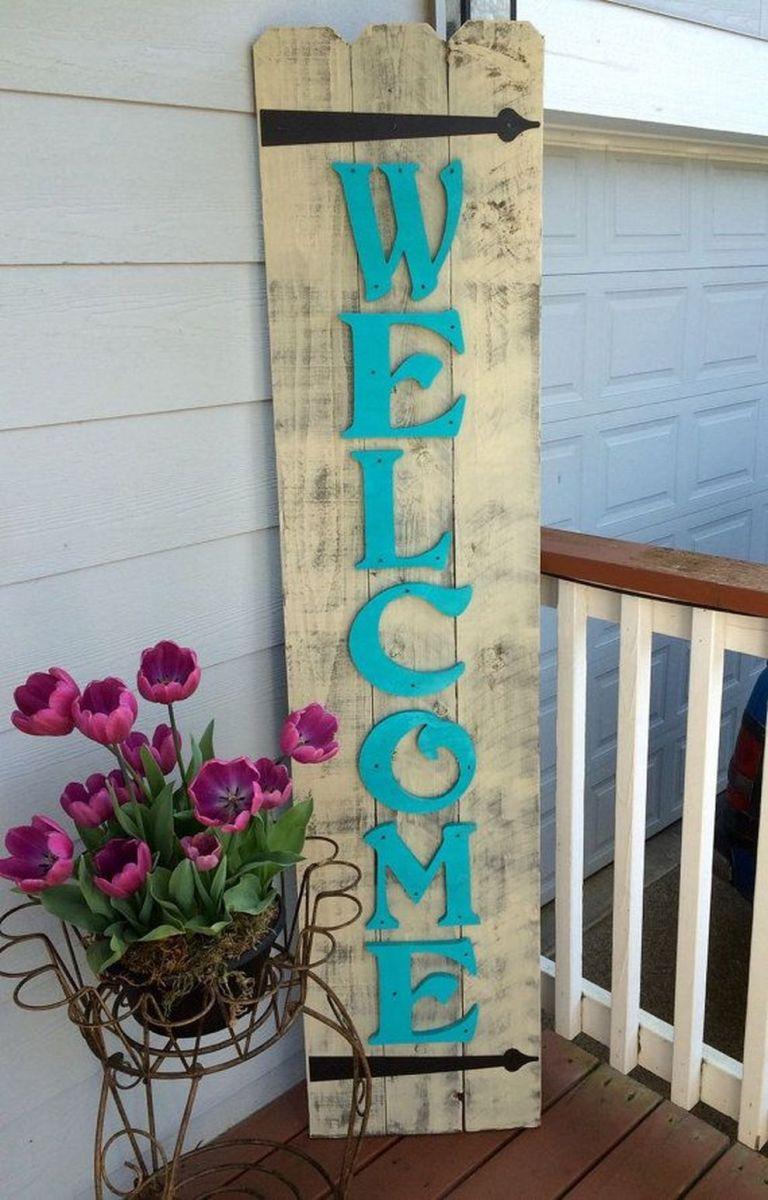 Creative front porch garden design ideas 30