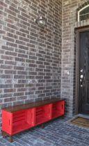 Creative front porch garden design ideas 38