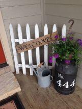 Creative front porch garden design ideas 45