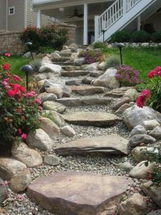 Creative garden design ideas for slopes 05