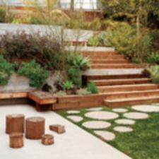 Creative garden design ideas for slopes 09