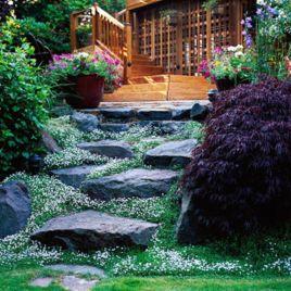 Creative garden design ideas for slopes 14