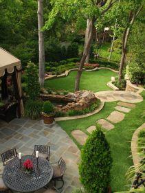 Creative garden design ideas for slopes 30