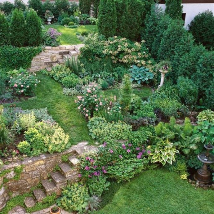 55 Creative Garden Design Ideas For Slopes