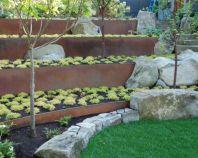 Creative garden design ideas for slopes 35