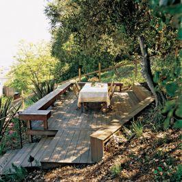 Creative garden design ideas for slopes 40