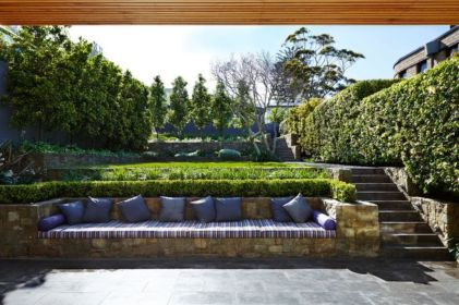 Creative garden design ideas for slopes 45