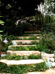 Creative garden design ideas for slopes 46