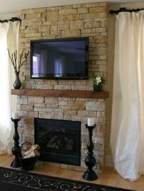Creative ideas hiding a tv in the living room 01