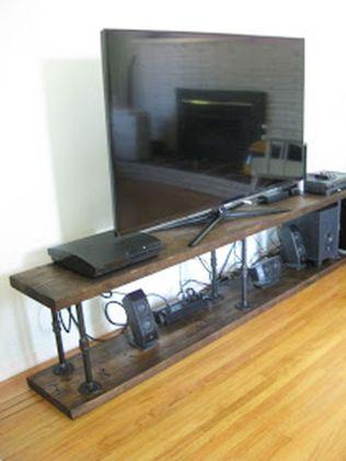 Creative ideas hiding a tv in the living room 17