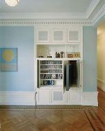 Creative ideas hiding a tv in the living room 40