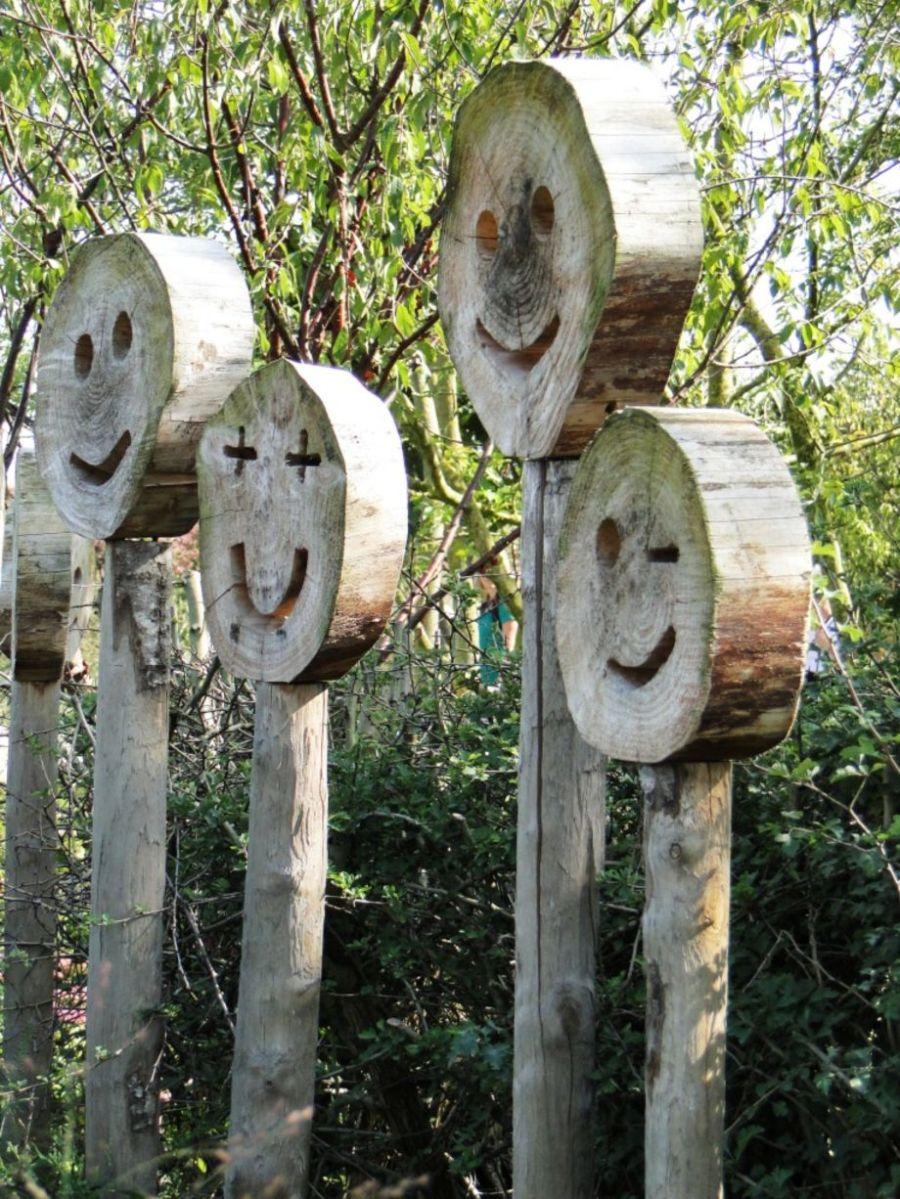 Cute and cool garden art for kids design ideas 01