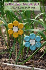 Cute and cool garden art for kids design ideas 24