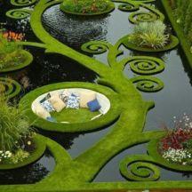 Cute and cool garden art for kids design ideas 49