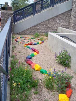 Cute and simple school garden design ideas 02