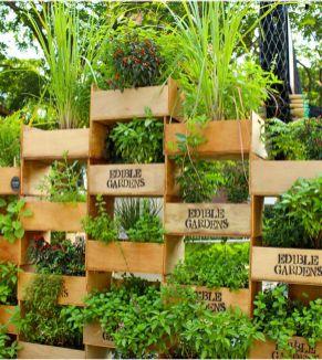 Cute and simple tiny patio garden ideas 01
